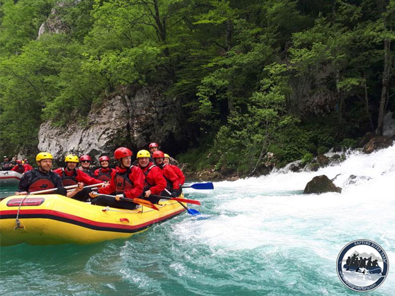 Rafting Tara river